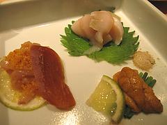 6料理:先付@鮨ダイニング太兵衛・博多区古門戸町
