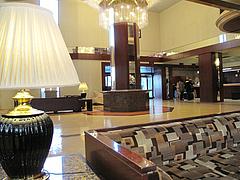 2店内:ホテルロビー@イタリアンレストラン・天神・西鉄グランドホテル・マンジャーモ