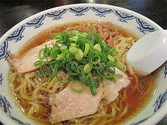 料理:中華そば(醤油ラーメン)630円@中華そば藤王・小倉