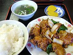 とりみそ定食@小笹飯店