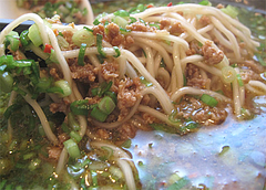 ランチ:台湾拉麺のラーメン麺@麺屋まつけん・渡辺通・電気ビル裏