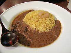 料理:インド修行カレー黄@スパイスロード(spiceroad)・高砂