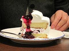 料理:日替わりケーキ@イタリア料理カプリチョーザ博多デイトス店