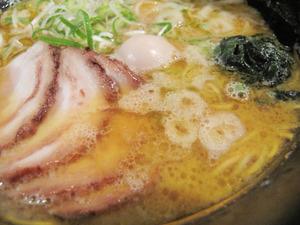4チャーシューメンスープ@海豚や西新