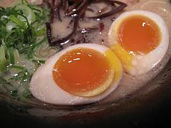 【ラーメン】絶品煮玉子120円@らーめん二男坊・キャナルシティ博多