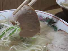 料理:ラーメンチャーシュー@永楽ラーメン・小倉