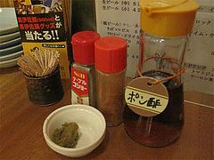 16店内:卓上@居酒屋・井戸端・博多川端商店街
