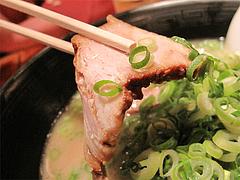 料理:とんこつらーめん叉焼@らーめん将・博多駅南