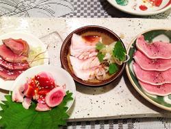 7豚刺身@たゆたゆ・北新地
