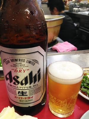 6ビール@豚足のかどや