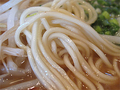 料理:ラーメン麺@四方平・北九州小倉