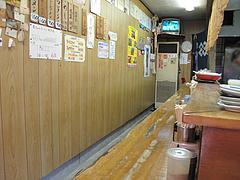 店内:カウンター13席@冨ちゃんラーメン・城南区堤