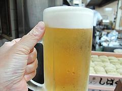 料理:生ビール@しばらく平和台店・大手門