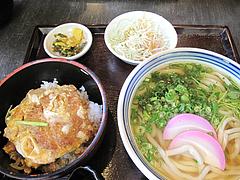 料理:日替わりうどん(温)680円@麺処かわべ・博多駅南