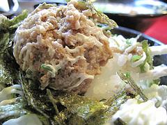 16ランチ:肉味噌マヨネーズご飯@麺や・金の豚・ラーメン・野方