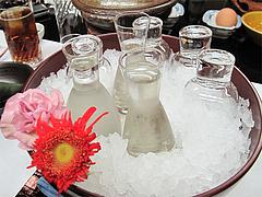 11宴会:冷酒@観山荘別館・小倉・料亭