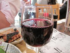 16居酒屋:赤ワイン@博多漁家磯貝・しらすくじら・天神店