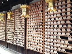 24鏡絵馬いっぱい@河合神社