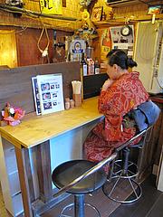 店内 :黄昏カウンター@ラーメンまんぼ亭・赤坂