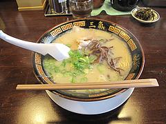 ランチ:やる氣ラーメン500円@博多三氣(三気)・板付店