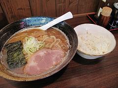 14ランチ:こってり豚骨魚介・白ご飯@ラーメン・つけ麺・中華蕎麦・翠蓮