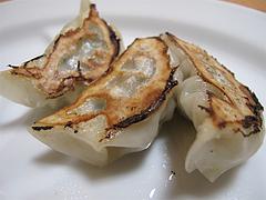 料理:600円セットの餃子3個@いけ麺・馬出