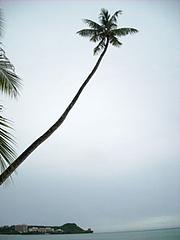 あいにくの曇り空@グアム2009