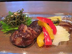 6料理:自家製ピクルス@バー・Yumekichi Wine(ユメキチワイン)