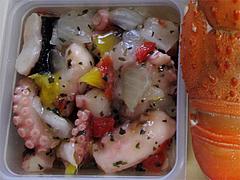 料理:タコバジルソース@2011セントラルホテル福岡お節(おせち)・二の重