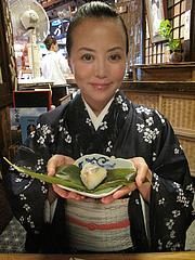 14料理:小鯛の笹寿司@京寿司ランチ・祇園いづ重