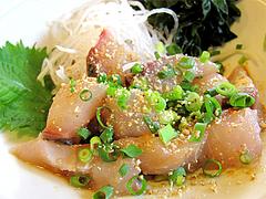 料理:極上胡麻アジ定食のアジ@梅山鉄平食堂
