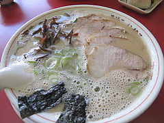 8ランチ:やき豚ラーメン600円@長浜ラーメン・餃子・長浜御殿・堤店