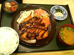 料理:イワシフライ定食@吾木香・舞鶴