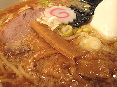 料理:正油らーめんアップ@支那そば勝丸・ラーメンスタジアム・キャナルシティ博多