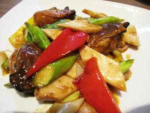 7牡蠣の香辣ジャン炒め@シーロン