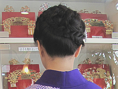 11着物・和装ヘアアップ@シキシマ美容院
