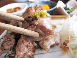 18鶏と柚子胡椒@御飯屋おはな