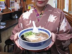 料理:博多極太わとんこつら~めん600円@ダーチャ・まんぼ亭・赤坂門市場