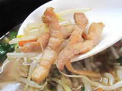 料理:もやしそばの肉@中華そば源ゴロー・上呉服町