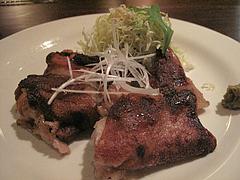 11バー:4時間煮込んだ豚足パリッと醤油焼@イタリアン・ワインバー・SUGIYA(スギヤ)・赤坂