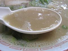 料理:ラーメンスープ@長浜ラーメン・長浜御殿・長尾店