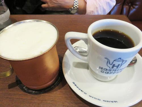 7豆乳ラテとコーヒー