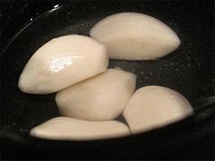 料理:クラッシュ用にんにく@博多一風堂・塩原本舗・福岡