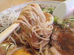 料理:ぶしラーメン麺@一龍・小倉駅前
