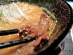 12ランチ:味噌ラーメン馬肉@さくらラーメン・馬蹄・日赤通り・高宮