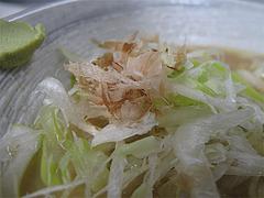 料理:節道ラーメンの具@節道・春日