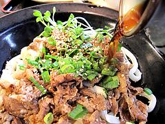 ランチ:肉ぶっかけうどんつゆ@カラフル食堂・住吉店
