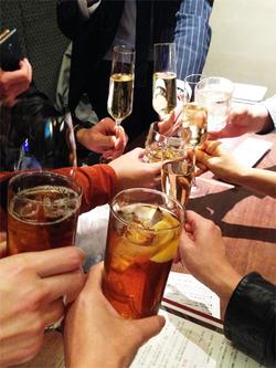 3乾杯@アペリ