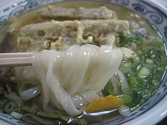 8ランチ:ごぼ天うどん麺@恵味うどん・薬院