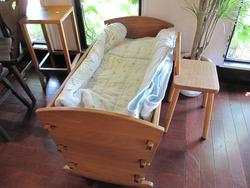 3ベビーベッド@いわい家具・ウッドスタイルカフェ